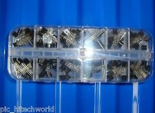 116 pcs transistor kit assortment box, XL1225 2SC945 2n3904 2n2222 TL431