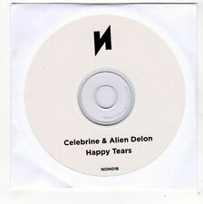 (FO370) Celebrine & Alien Delon, Happy Tears - unopened DJ CD