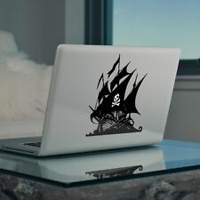 "Caribbean Pirate Ship Sticker for Apple Macbook Pro & Macbook Air 13"" 15"" 17"""