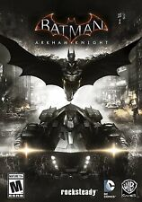 Batman: Arkham Knight PC DVD  Game for Windows Standard Edition