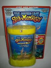 THE AMAZING LIVE SEA-MONKEYS MARINE ZOO YELLOW TANK (BRAND NEW)