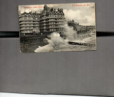 Sussex Eastbourne Splash point 1905   posted P.T.A.series card No365