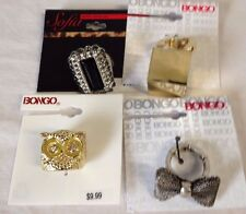 *NWT*  Costume Fashion Statement Rings - LOT of 4 Rings