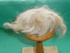 "doll wig mohair blond 5.5"" to 6""/ short/"