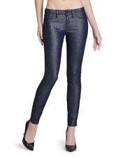 NEW $138 Sz 30  GUESS - Women's BRITTNEY Metallic Shimmer Leggings Jeans NWT