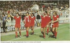 LIVERPOOL 1979 CHARITY SHIELD WINNERS. PHOTO PRINT.