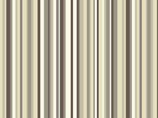 Sophia Arthouse Striped Stripy Neutral Coffee Brown and Cream Barcode Wallpaper