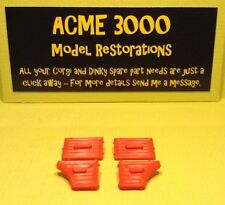Dinky 255 Mk4 Ford Zodiac Reproduction Repro Red Plastic Door Card Set of 4