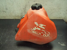 1986 86 HONDA XR 600 R XR600R XL XT OEM GAS GASOLINE FUEL PETROLEUM TANK RED CAP
