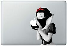 Snow White Revenge Holding Apple MacBook Pro / Air 17 Inch Vinyl Decal Sticker
