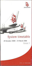 Dragonair system timetable 10/29/00 [6112]
