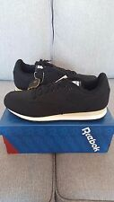 Reebok Men CL LUX TXT / Classic - Black - UK 10
