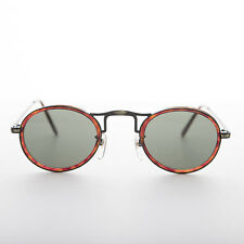True Vintage Oval Round Sunglasses Optical Quality Brown/Bronze  - Gatsby