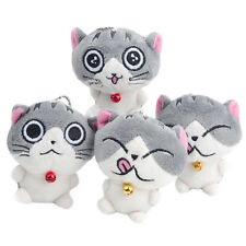 Pop&Chic 1pc Cute Cat Plush Doll Toys Stuffed Animal Bolster Key chain Keyring