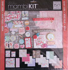 "Baby Girl (Our Little Lady) 12""x12"" Scrapbook Kit by MAMBI *Sweet Baby Girl*"