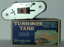 Louis Marx Tin W/U Turnover Tank WW1 British Model MARK 1 In Original Box 1930