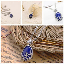 Vampire Diaries Katherine Elena Necklace Pendant Daylight Lapis Jewelry Gift