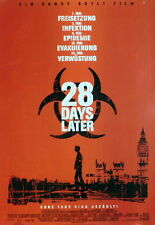 Zombie 28 DAYS LATER original Kino Plakat Teaser A1 gerollt