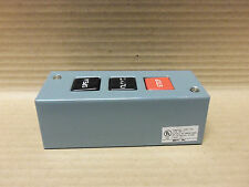 MMTC PBS-3 PUSHBUTTON STATION NEW WORN BUTTONS