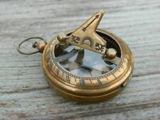 Necklace Sundial Compass Working Compass Pandent Lot of 10