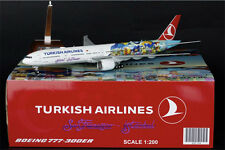 "XX2790 Turkish Airlines B777-300ER ""TC-JJU"" JC Wings 1:200 DIECAST MODEL"