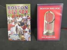 BOSTON RED SOX 2004 WORLD CHAMPIONS CELEBRATION ON THE 2005 SCHEDUL