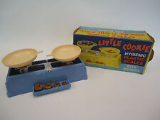 Vintage Hungary Childs Balance Scale Toy Little Cookie Hygienic Plastic Scales