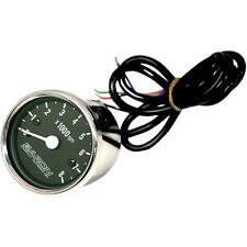 Baron Custom Accessories Tachometer Replacement Internals Black Face BA-07-660T