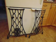 antique sewing machine base /stand/legs   nice  # 1690