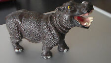 Vintage Hippopotamus Figurine Composition Animal Italy, Chialu