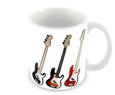 BASS GUITAR     COFFEE MUG    FREE PERSONALISATION