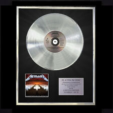 METALLICA MASTER OF PUPPETS  CD PLATINUM DISC LP FREE P+P!