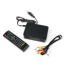 High Definition Digital Video Broadcasting Terrestrial Receiver DVB-T2 Black BH