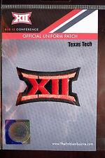Official Licensed NCAA College Football Texas Tech BIG 12 Conference Patch