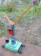USSR Construction Crane Toy for Children 1960's Very Rare