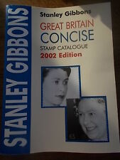 Stanley Gibbons Great Britain Concise Stamp Catalogue in Colour 2002 Edition VGC