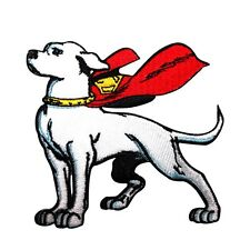 Krypto the Superdog Patch Superman's Super Pet DC Comics Kids Iron-On Applique