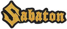 SABATON - Patch Aufnäher - logo cut 5x11,3cm