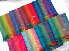 10pc wholesale pashmina evening wraps elephant flower shawls scarves winter