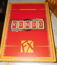 Rondo von Fx Schmidt ,  Wortspiel KartenSpiel, ähnlich Scrabble-nur besser