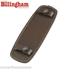 "Billingham SP50 Shoulder Bag Pad For 2"" - Fits 107 207 307 - Chocolate Leather"