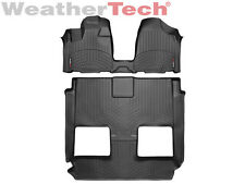 WeatherTech® FloorLiner - Chrysler Town & Country OTH w/Stow - 2011-2016 - Black
