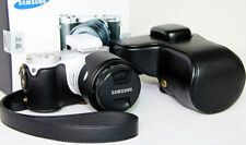 New black leather camera case bag cover for Samsung NX300 NX300M NX500