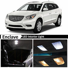 17x White Interior LED Lights Package for  2008-2016 Buick Enclave + TOOL