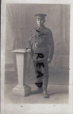 WW1 Soldier L/Cpl Royal Engineers economy blackened GS Buttons