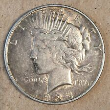 1923-D Peace Silver Dollar -Check the  High Quality Scans #B064