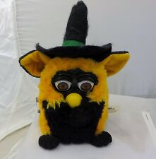 Furby Halloween Limited Edition Black Orange 1999 witch