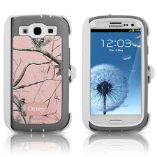 OtterBox Defender Galaxy S3 Case & Holster RealTree Camo AP Pink OEM Original
