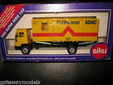 SIKU 1/55 AUTOMOBILE CLUB TESTING TRUCK SERVICE QUALITY MODEL MADE IN GERMANY
