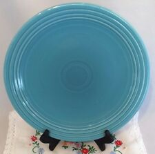 """Vintage Fiestaware Turquoise Blue 13"""" Chop Plate - Fiesta HLC Charger Plate"""